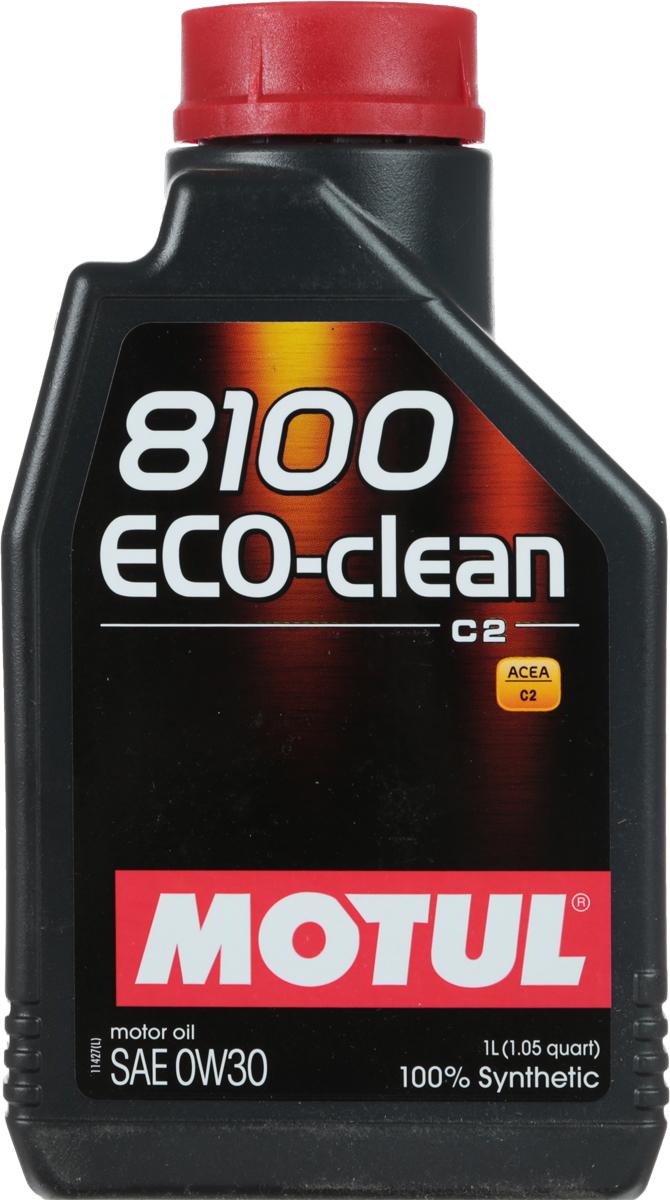Масло моторное Motul 8100 Eco-Clean, синтетическое, 0W-30, 1 л102888Моторное масло для бензиновых и дизельных двигателей. 100% синтетическое. Высокотехнологичное 100% синтетическое энергосберегающее моторное масло. Специально разработано для автопроизводителей, требующих масла с низким трением, низкой высокотемпературной вязкостью (HTHS менее 3,5 мПа.с), сниженным содержанием сульфатной золы (?0,8%), фосфора (0.07%-0.09%), серы (?0.3%) - Mid SAPS.Применяется для автомобилей последнего поколения, оснащенных бензиновыми и дизельными двигателями, в том числе с непосредственным впрыском, отвечающих требованиям стандартов Евро IV и Евро V, требующих использования в них энергосберегающих масел стандарта ACEA C2. Совместимо с каталитическими конвертерами и сажевыми фильтрами (DPF) системы очистки выхлопных газов. ACEA Стандарты: ACEA C2API Стандарты: API PERFORMANCE SNОдобрения: FORD WSS M2C 950A; FIAT 9.55535-GS1/DS1