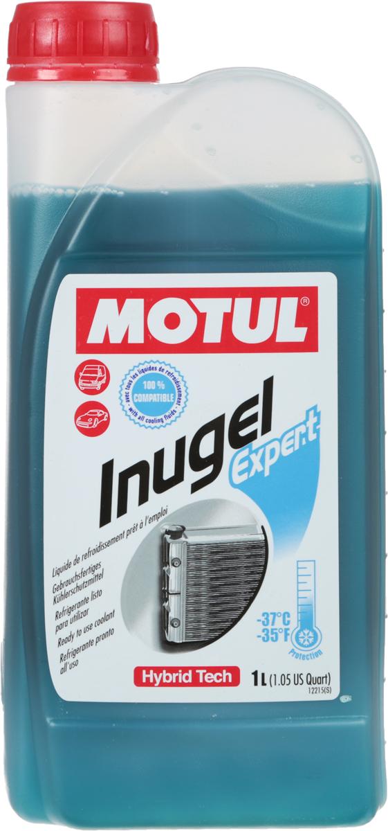 Антифриз Motul Inugel Expert -37, цвет: синий, зеленый, 1 л102927Готовая к использованию охлаждающая жидкость антикоррозионная, низкозамерзающая -37°C / -35°F. Не содержит нитритов, аминов, фосфатов.Motul Inugel Expert это готовая к использованию охлаждающая жидкость на основе моноэтиленгликоля с органическими и неорганическими добавками (гибридная технология). Этот продукт может смешиваться с любыми жидкостями на основе моноэтиленгликоля.Рекомендуется для всех охлаждающих систем: легковые автомобили, сложные условия эксплуатации, строительная и сельскохозяйственная техника, садовая техника, водная техника, стационарные двигатели.Одобрения: ASTM D3306/D4656; BS 6580; AFNOR NFR 15-601; SAE J1034; JASO M325; JIS K2234; KSM 2142; MB 326.0; FIAT 9.55523; CHRYSLER MS-7170; BMW GS 9400; PORSCHE/AUDI/SEAT/SKODA TL-774C (=G11); FORD ESD-M97B49-A; VOLVO CARS 128 6083/002; OPEL/GM QL 130