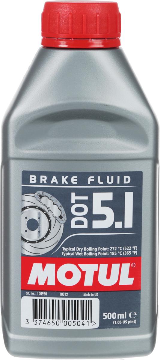 "Жидкость тормозная Motul ""DOT 5.1 Brake Fluid"", 500 мл"