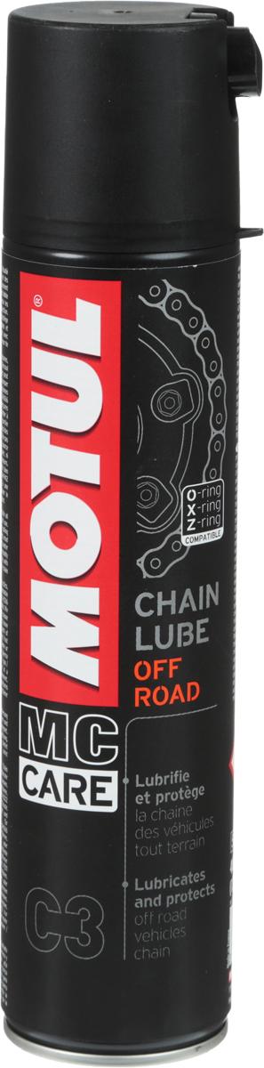 Купить Смазка цепи Motul С3 Chain Lube Off Road , 400 мл
