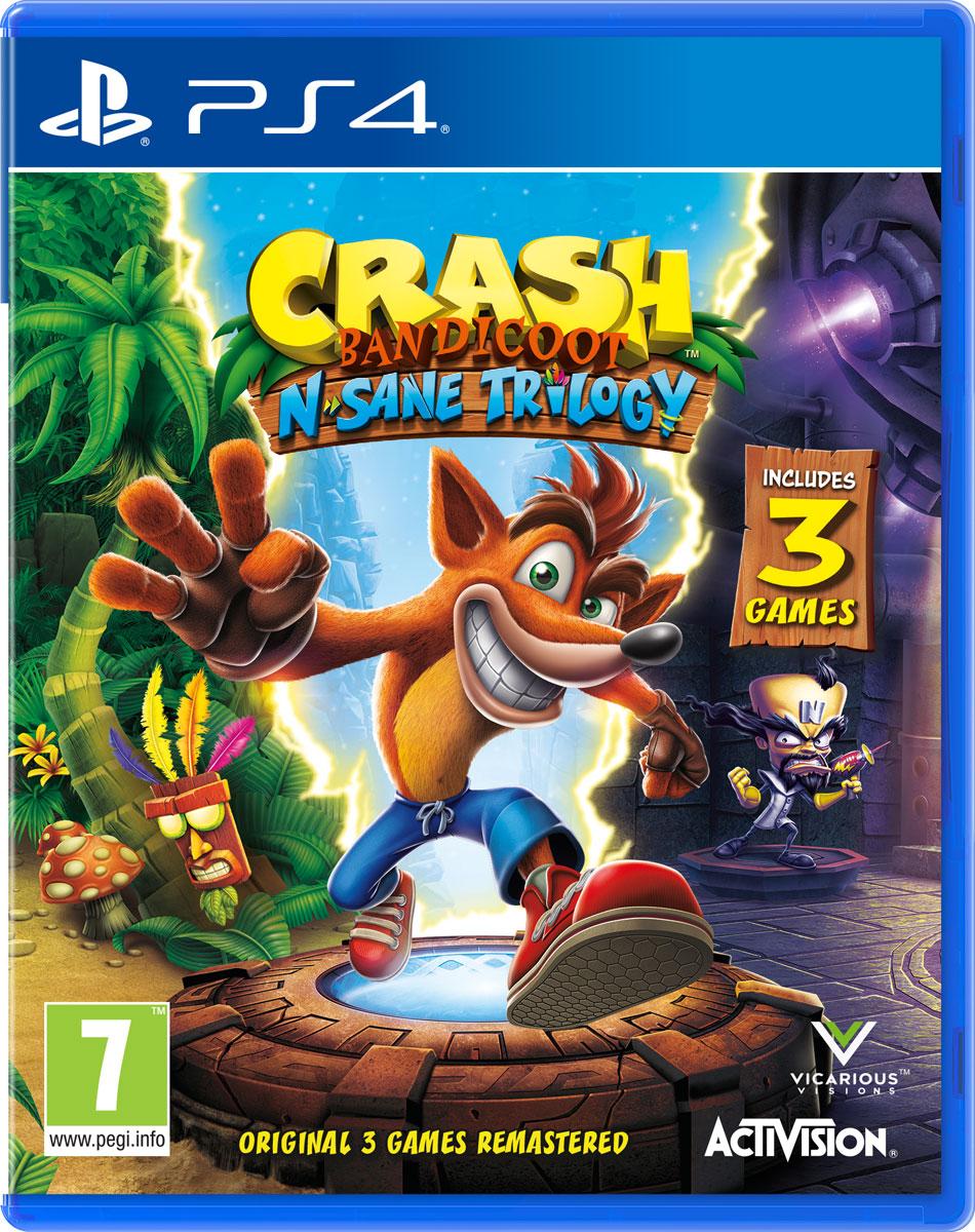 Crash Bandicoot N'sane Trilogy (PS4) playstation