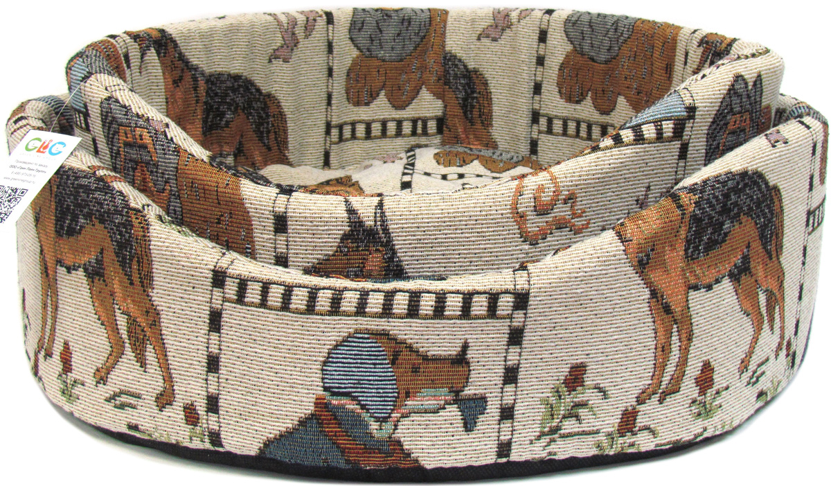 Лежак для собак GLG  Ринго М , 48 х 48 х 15 см