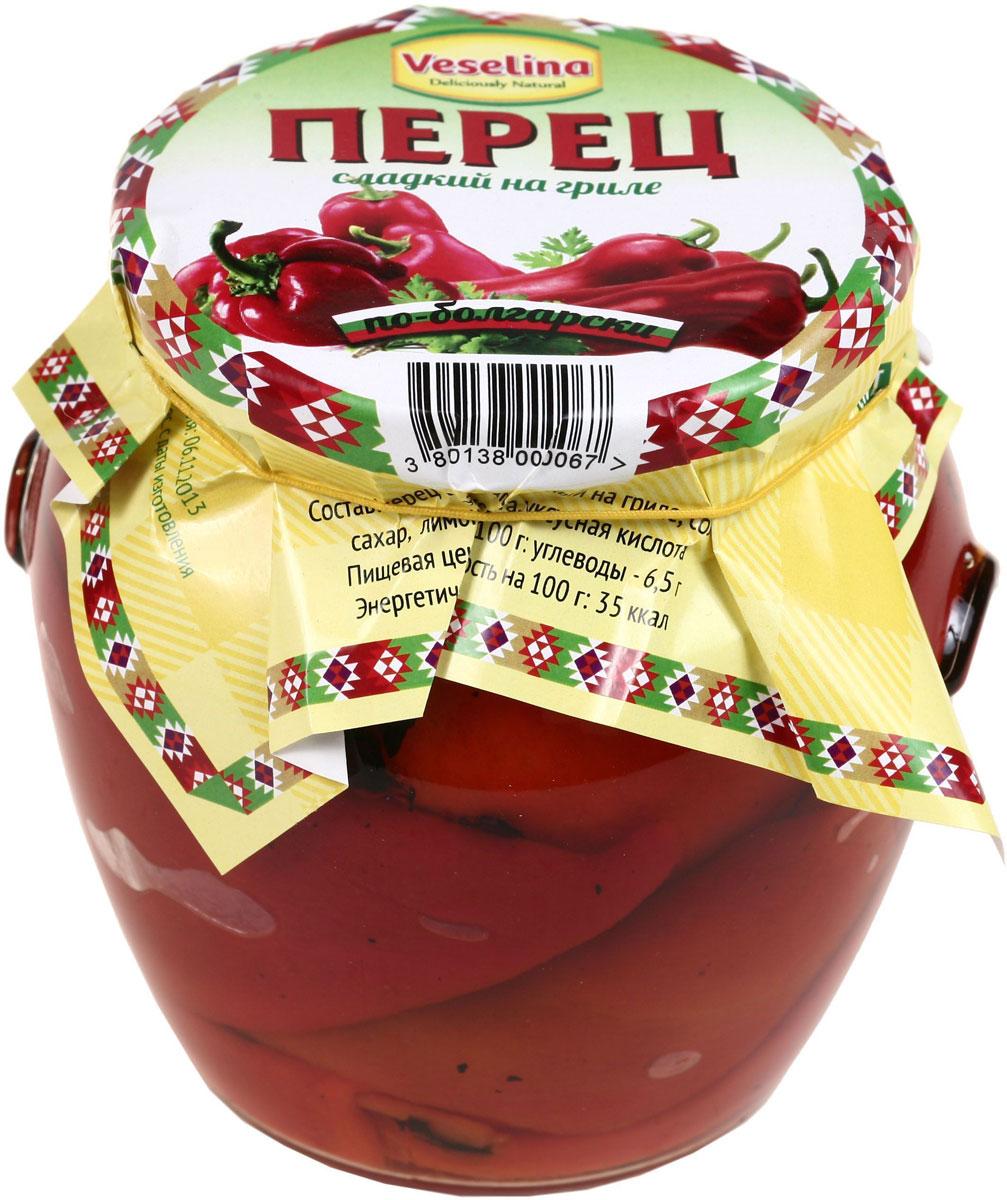 Veselina перец сладкий на гриле, 540 г veselina перец сладкий на гриле 540 г