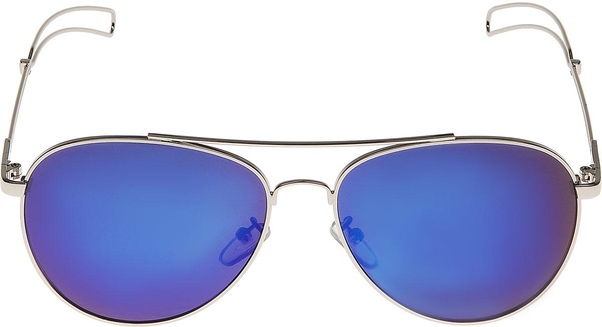 Очки солнцезащитные женские Vitta pelle, цвет: синий. 1301-2017-921
