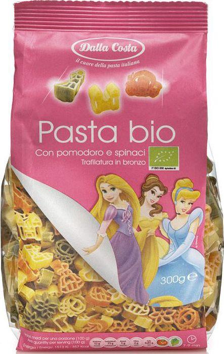 Dalla Costa Disney Фигурные Принцесса БИО со шпинатом и томатом, 300 г