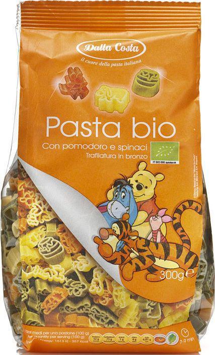 Dalla Costa Disney Фигурные Винни Пух БИО со шпинатом и томатом, 300 г