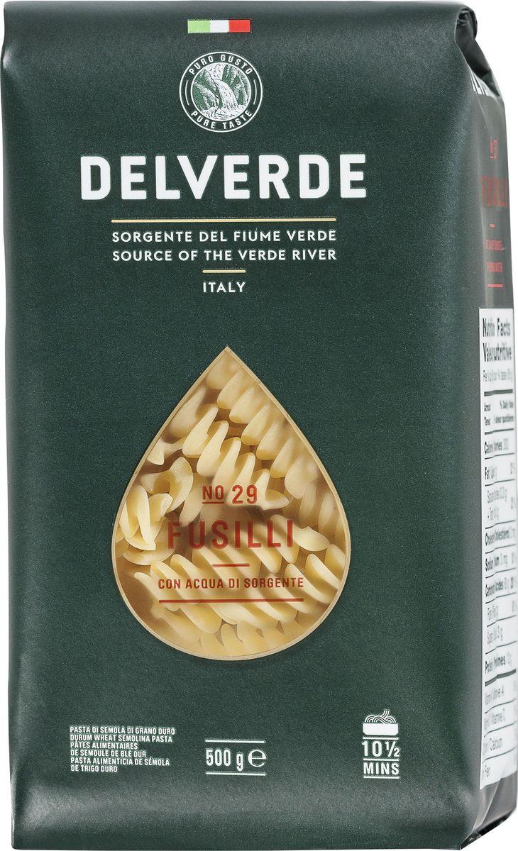 Delverde № 029 паста Фузилли, 500 г6638Фузилли Delverde - короткая трубчатая паста среднего размера. Великолепно сочетается с сливочными, мясными и рыбными соусами. Подходит для приготовления салатов и запеканок. Варить в кипящей подсоленной воде 9 минут.Компания Delverde Industrie Alimentari S.p.a начала свою историю в середине XX века в Фаре, доведя до совершенства искусство традиционного производство пасты. Традиция изготовления пасты в историческом поселении Фара Сан Мартино известна по всему миру с XVII века: именно здесь производители впервые научились искусству смешивать зерна пшеницы с чистейшей водой реки Верде. Фара Сан Мартино до сих пор славится как одна из мировых столиц пасты. С самого начала миссией компании было производить и предлагать миру высококачественные продукты из высококачественных ингредиентов. Компания Delverde до сих пор работает в соответствии с наилучшими итальянскими гастрономическими и промышленными традициями. Для приготовления пасты Delverde используются только отборные, отлично сочетающиеся друг с другом ингредиенты: чистейшая вода из реки Верде и зерна самой качественной твердой пшеницы.Лайфхаки по варке круп и пасты. Статья OZON Гид