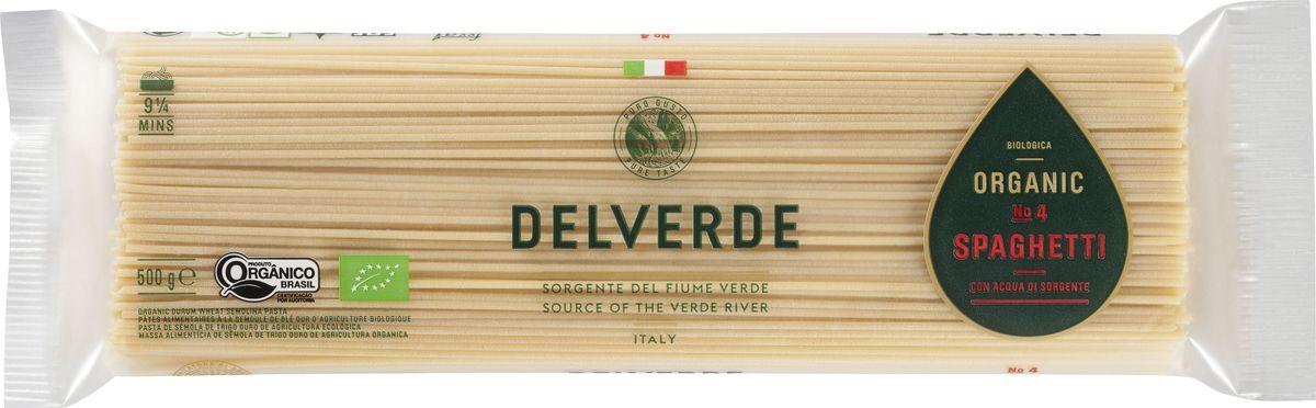 Delverde № 004 Спагетти Биолоджика, 500 г maltagliati spaghetti спагетти макароны 500 г