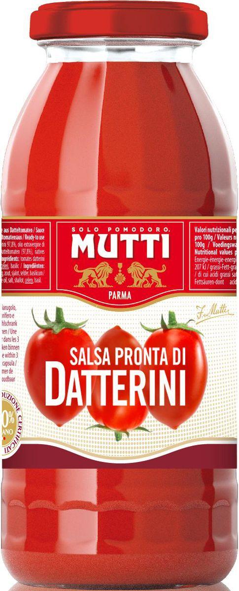 Mutti Сальса Пронта ди Даттерини томатный соус, 400 мл mutti сугопью томатный соус с перцем 280 г