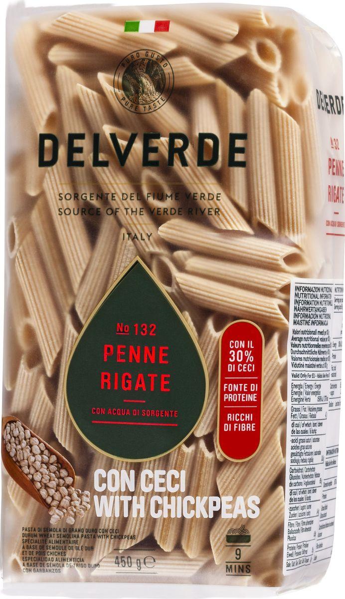 Delverde № 132 паста Пенне Ригате без содержания яиц с добавлением муки из нута, 450 гМС-00005497Пенне Ригате Delverde - короткий формат пасты. Великолепно сочетается с густыми томатными, мясными и сливочными соусами.Варить в кипящей подсоленной воде 9 минут.Компания Delverde Industrie Alimentari S.p.a начала свою историю в середине XX века в Фаре, доведя до совершенства искусство традиционного производство пасты. Традиция изготовления пасты в историческом поселении Фара Сан Мартино известна по всему миру с XVII века: именно здесь производители впервые научились искусству смешивать зерна пшеницы с чистейшей водой реки Верде. Фара Сан Мартино до сих пор славится как одна из мировых столиц пасты. С самого начала миссией компании было производить и предлагать миру высококачественные продукты из высококачественных ингредиентов. Компания Delverde до сих пор работает в соответствии с наилучшими итальянскими гастрономическими и промышленными традициями. Для приготовления пасты Delverde используются только отборные, отлично сочетающиеся друг с другом ингредиенты: чистейшая вода из реки Верде и зерна самой качественной твердой пшеницы.