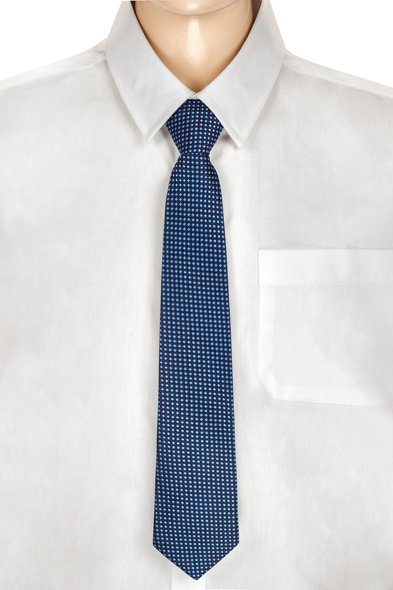 Галстук для мальчика Brostem, цвет: деним, голубой. RKCAL1101-11. Размер универсальныйRKCAL1101-11Модный галстук для мальчика Brostem изготовлен из полиэстера. Обхват шеи регулируется с помощью пластикового фиксатора. Галстук оформлен оригинальным принтом.