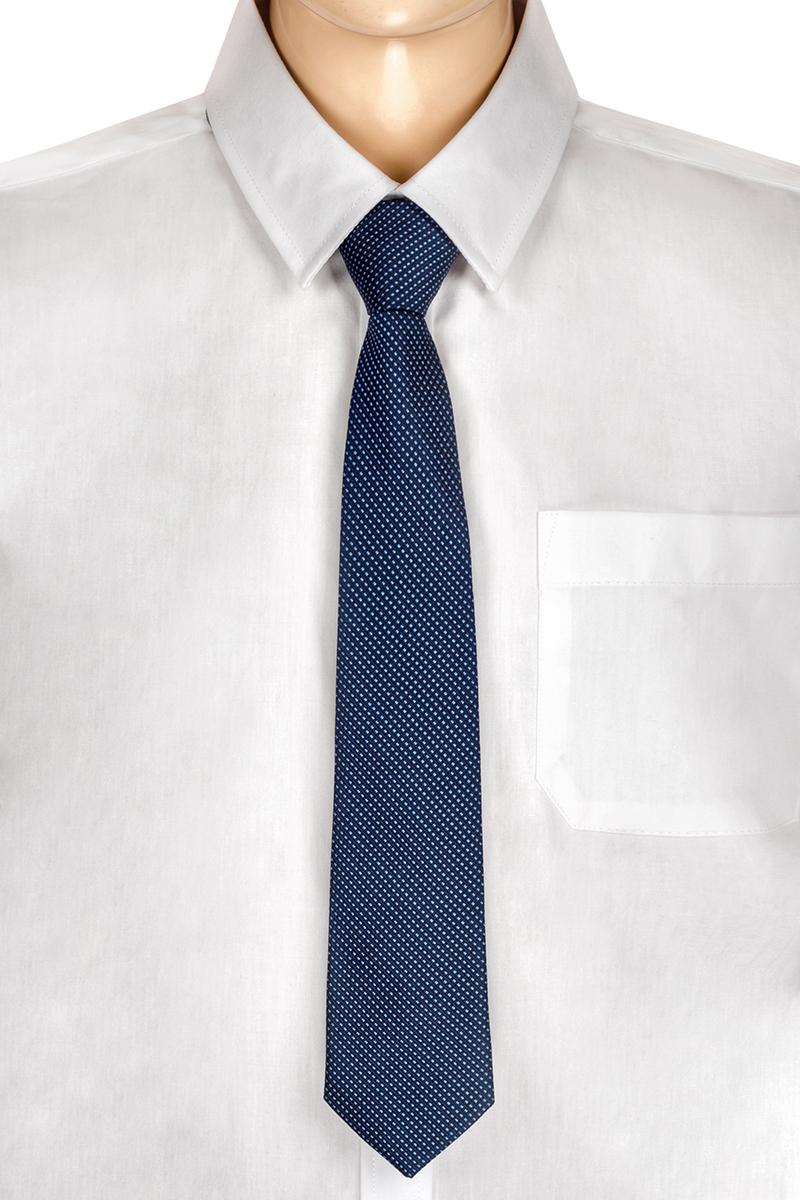 Галстук для мальчика Brostem, цвет: темно-синий, голубой. RKCAL2902-29. Размер универсальныйRKCAL2902-29Модный галстук для мальчика Brostem изготовлен из полиэстера. Обхват шеи регулируется с помощью пластикового фиксатора. Галстук оформлен оригинальным принтом.