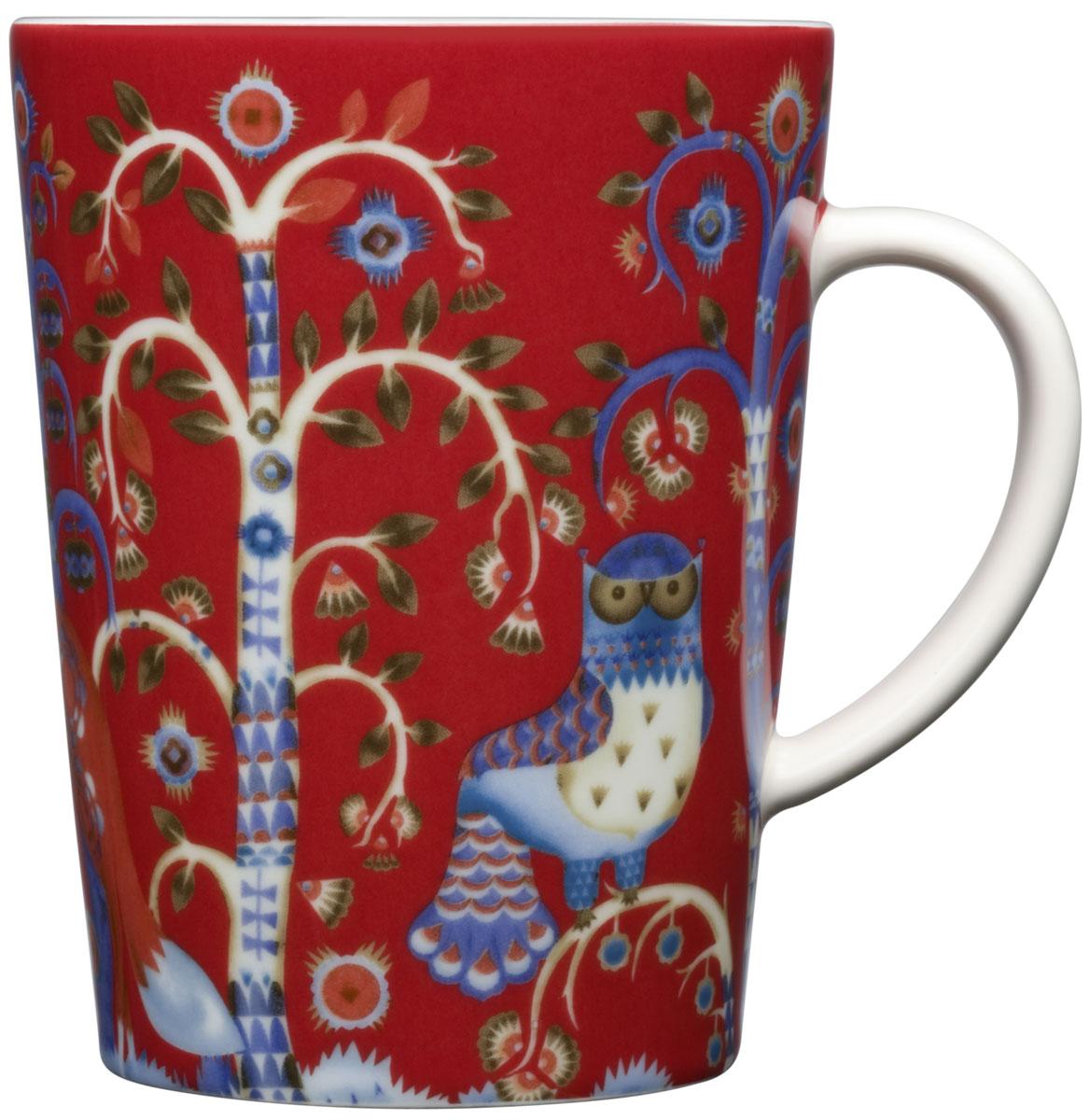 Чашка Iittala Taika, цвет: красный, 0,4 л1012481