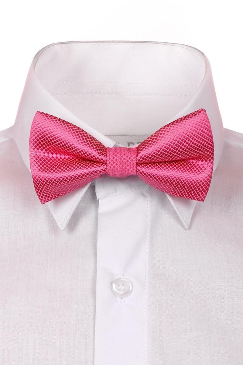 Галстук-бабочка для мальчиков Brostem, цвет: розовый. RBAB5-5. Размер универсальныйRBAB5-5Модный галстук-бабочка для мальчика Brostem изготовлен из качественного полиэстера. Такой аксессуар придаст юному кавалеру солидности.