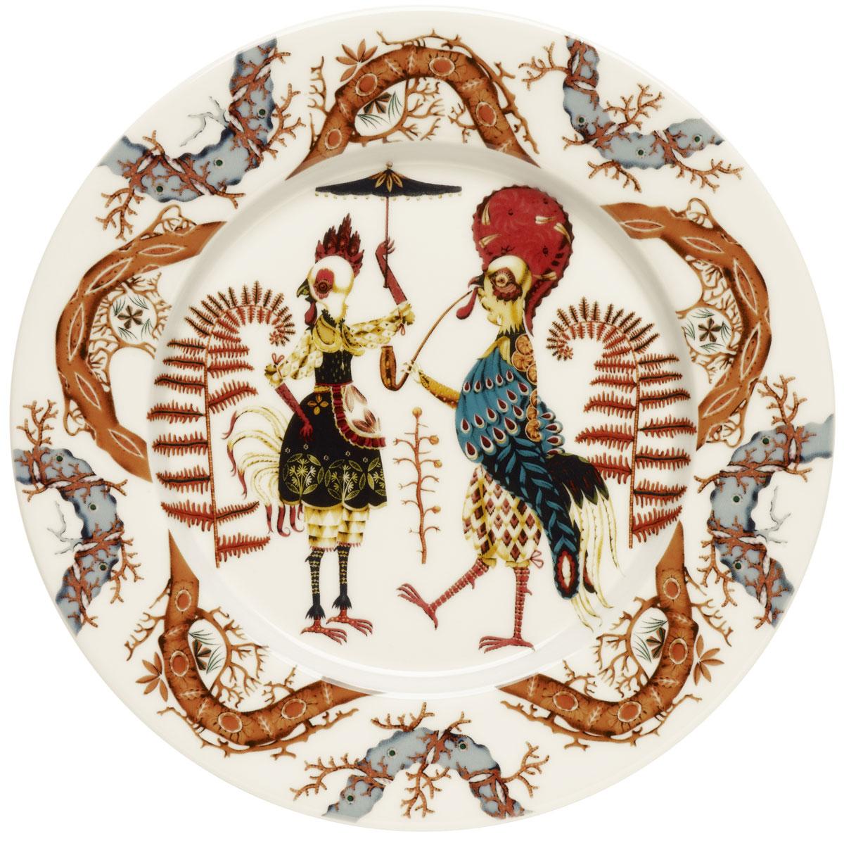 Тарелка Iittala Tanssi, диаметр 22 см1015529Тарелка Iittala Taika выполнена из качественного жароустойчивого прочного фарфора с долговечным стекловидным эмалевым покрытием.Идеально подойдет для сервировки стола и станет отличным подарком к любому празднику.