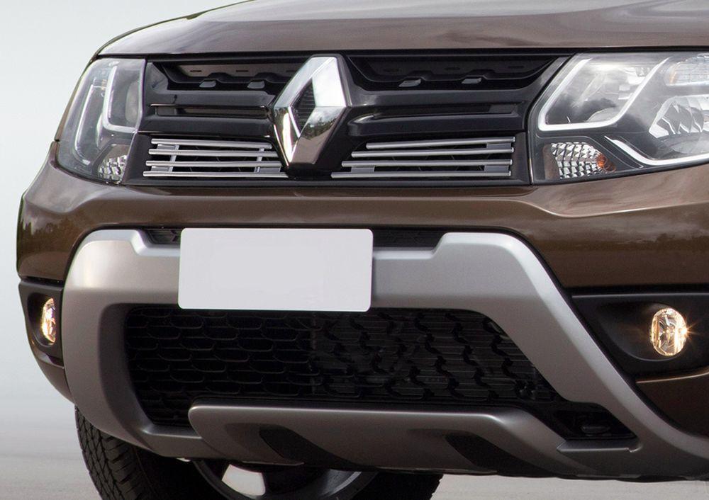 Решетка радиатора для Renault Duster 2015-, 2 частиG.4701.002Стильная решетка радиатора Rival придает Вашему автомобилю индивидуальность и выделяет его в насыщенном городском потоке, защищает радиатор от повреждений.- Произведена из высококачественной нержавеющей стали (марка AISI 304, толщина стенки 1,5 мм, диаметр трубочек 10 мм) обеспечивает долговечную эксплуатацию. - Гарантия на сквозную коррозию и на целостность сварных швов - 5 лет.- Использование электроплазменной полировки позволяет добиться качественной равномерной зеркальной поверхности.- Простая установка в штатные места крепления не требует сверления и дополнительной доработки автомобиля. Установка занимает не более 15 минут.- Продукт сертифицирован, нет проблем с постановкой на учет.- Производство на высокоточном оборудовании позволяет изготовить индивидуальный продукт с высокой точностью повторения геометрии автомобиля.- В комплекте крепеж и инструкция по установке.Совместимость с дополнительным оборудованием и аксессуарами Rival и с большинством оригинальных аксессуаров.