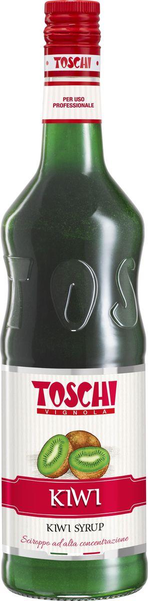 Toschi Киви сироп, 1 лМС-00005635Сироп Киви Toschi отличается ярким вкусом и ароматом. Подходит для приготовления лимонадов, алкогольных и безалкогольных коктейлей, для кондитерских изделий и десертов.О производителе: Компания Тоски Виньола основана в 1945 году как поставщик продуктов питания. Деятельность компании началась с производства фруктов в ликере, далее ассортимент начал включать сиропы, ликеры, вишни в сиропе Amarena, ингредиенты для мороженого и кондитерских изделий, бальзамический уксус и многое другое.За 70 лет развития компания Тоски Виньола значительно расширила ассортимент выпускаемых продуктов. Благодаря высочайшему качеству и использованию натуральных ингредиентов продукция компании Тоски Виньола известна во всем мире. В 2006 году вся продукция Тоски Виньола получила сертификат IFS (Международный пищевой стандарт). Сегодня Тоски Виньола является семейной компанией, ей управляют Джорджио Монторси и Массимо Тоски, которые бережно хранят секреты семейного производства.
