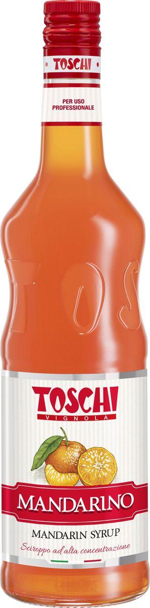Toschi Мандарин сироп, 1 лМС-00005639Сироп Мандарин Toschi отличается красивым цветом и ярким цитрусовым вкусом и ароматом. Великолепен для приготовления коктейлей, лимонадов и газированных напитков. Идеальное дополнение к десертам и мороженому.О производителе: Компания Тоски Виньола основана в 1945 году как поставщик продуктов питания. Деятельность компании началась с производства фруктов в ликере, далее ассортимент начал включать сиропы, ликеры, вишни в сиропе Amarena, ингредиенты для мороженого и кондитерских изделий, бальзамический уксус и многое другое. За 70 лет развития компания Тоски Виньола значительно расширила ассортимент выпускаемых продуктов. Благодаря высочайшему качеству и использованию натуральных ингредиентов продукция компании Тоски Виньола известна во всем мире. В 2006 году вся продукция Тоски Виньола получила сертификат IFS (Международный пищевой стандарт). Сегодня Тоски Виньола является семейной компанией, ей управляют Джорджио Монторси и Массимо Тоски, которые бережно хранят секреты семейного производства.