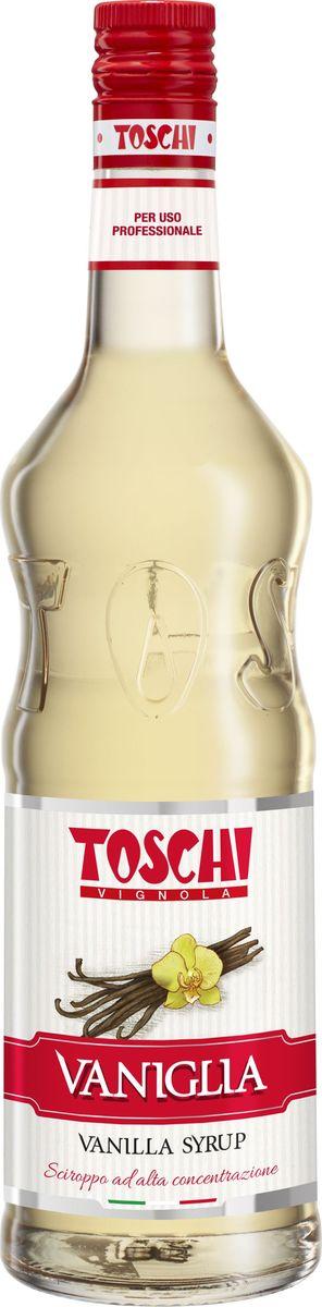Tosch Ваниль сироп, 1 лМС-00004Сироп Ваниль Toschi отличается деликатным вкусом и ароматом ванили. Гармонично сочетается с кофе, какао, молоком. Великолепен для приготовления коктейлей, кондитерских изделий и выпечки.