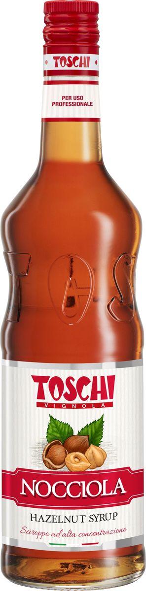 Toschi Лесной Орех сироп, 1 лМС-00005Сироп Лесной Орех Toschi отличается густой консистенцией, насыщенным ароматом и вкусом лесного ореха. Его нежный аромат покорит любого гурмана. Подходит для приготовления алкогольных и безалкогольных коктейлей. Идеален в качестве дополнения к кофе, горячему шоколаду, мороженому, кондитерским изделиям, чайным и молочным напиткам. О производителе: Компания Тоски Виньола основана в 1945 году как поставщик продуктов питания. Деятельность компании началась с производства фруктов в ликере, далее ассортимент начал включать сиропы, ликеры, вишни в сиропе Amarena, ингредиенты для мороженого и кондитерских изделий, бальзамический уксус и многое другое. За 70 лет развития компания Тоски Виньола значительно расширила ассортимент выпускаемых продуктов. Благодаря высочайшему качеству и использованию натуральных ингредиентов продукция компании Тоски Виньола известна во всем мире. В 2006 году вся продукция Тоски Виньола получила сертификат IFS (Международный пищевой стандарт). Сегодня Тоски Виньола является семейной компанией, ей управляют Джорджио Монторси и Массимо Тоски, которые бережно хранят секреты семейного производства.