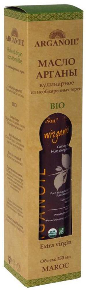 ArganOil масло арганы из необжаренных зерен, 250 мл0120710BIO продукт высокого качества используется в завершении процесса приготовления пищи для придания аромата блюдам на пару или салатам. Несколько капель масла, добавленных в блюдо, придадут ему особый вкус.Уникальные свойства масла Арганы объясняются его химическим составом: масло на 80% состоит из ненасыщенных жирных кислот, включая около 35% олиго-линолиевых кислот, которые не вырабатываются в организме человека и могут быть получены только извне. Наличие этих кислот в организме препятствуют старению клеток кожи и снижают риск сердечно-сосудистых заболеваний. Масло содержит витамин А и большое количество витамина Е. Масло Арганы богато натуральными антиоксидантами – полифенолами и токоферолами, которые выводят из организма токсины и шлаки. Обладает противовоспалительным эффектом, защищает клетки человеческого организма от разрушения под воздействием вредных свободных радикалов.