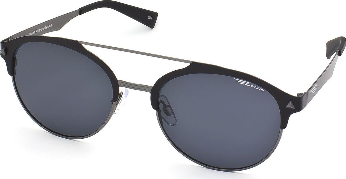 Очки поляризационные Legna, цвет: серый, черный. S4700AINT-06501Солнцезащитные очки LEGNA с поляризационными линзами превосходно предохраняют глаза от любого рода вредных бликов и УФ-лучей, что делает вождение безопасным и комфортным. Также очки LEGNA ничем не уступают самым известным маркам и брендам в эстетической части. Благодаря линзам премиум класса очки LEGNA прекрасно подходят для повседневной носки, занятий спортом, отдыха и конечно для использования за рулем.