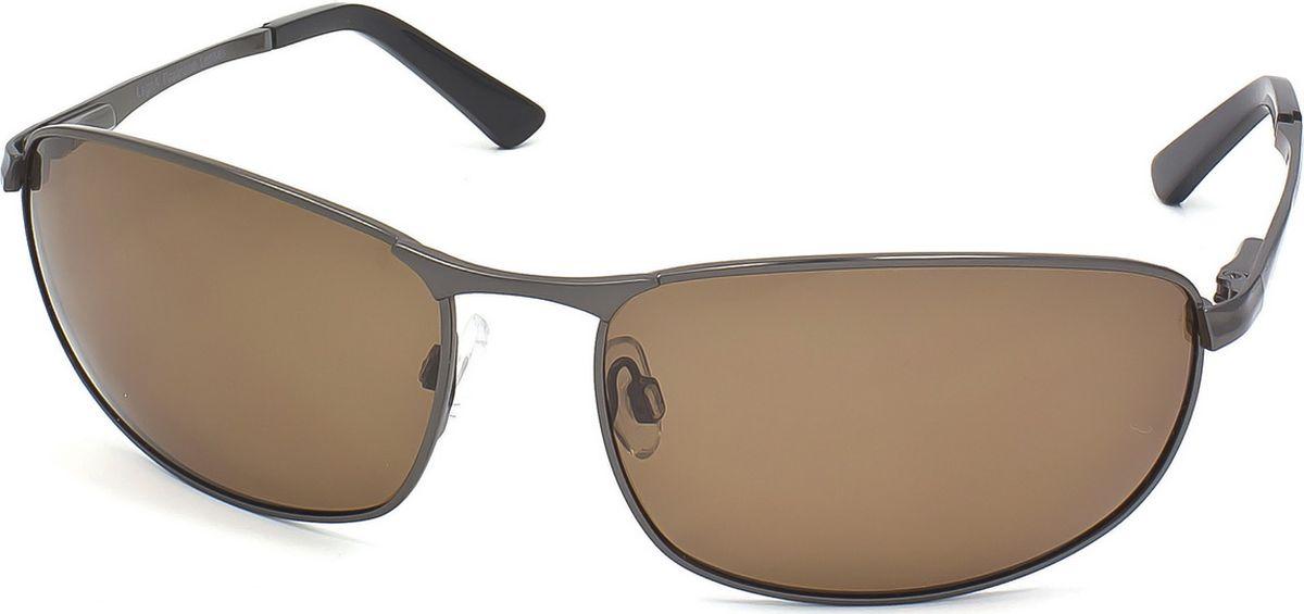 Очки поляризационные мужские Legna, цвет: коричневый, черный. S4703B1-022_516Солнцезащитные очки LEGNA с поляризационными линзами превосходно предохраняют глаза от любого рода вредных бликов и УФ-лучей, что делает вождение безопасным и комфортным. Также очки LEGNA ничем не уступают самым известным маркам и брендам в эстетической части. Благодаря линзам премиум класса очки LEGNA прекрасно подходят для повседневной носки, занятий спортом, отдыха и конечно для использования за рулем.