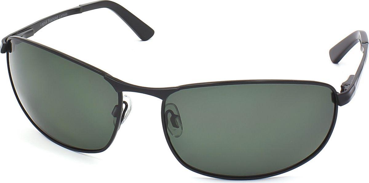 Очки поляризационные мужские Legna, цвет: зеленый, черный. S4703CBM8434-58AEСолнцезащитные очки LEGNA с поляризационными линзами превосходно предохраняют глаза от любого рода вредных бликов и УФ-лучей, что делает вождение безопасным и комфортным. Также очки LEGNA ничем не уступают самым известным маркам и брендам в эстетической части. Благодаря линзам премиум класса очки LEGNA прекрасно подходят для повседневной носки, занятий спортом, отдыха и конечно для использования за рулем.