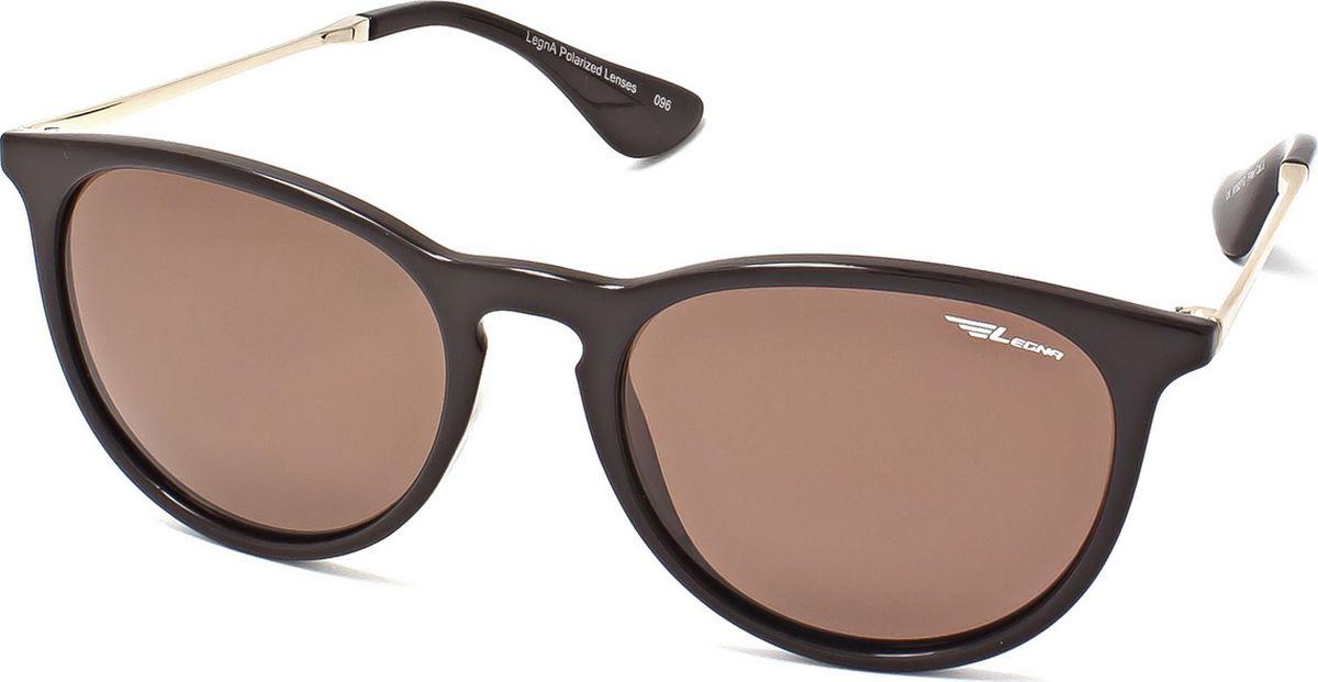 Очки поляризационные Legna, цвет: коричневый. S8602C1-022_516Солнцезащитные очки LEGNA с поляризационными линзами превосходно предохраняют глаза от любого рода вредных бликов и УФ-лучей, что делает вождение безопасным и комфортным. Также очки LEGNA ничем не уступают самым известным маркам и брендам в эстетической части. Благодаря линзам премиум класса очки LEGNA прекрасно подходят для повседневной носки, занятий спортом, отдыха и конечно для использования за рулем.