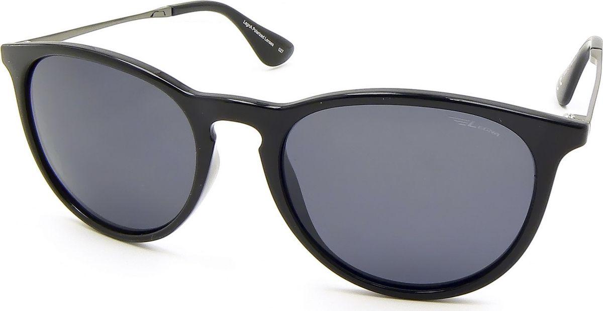 Очки поляризационные Legna, цвет: серый, черный. S8602DBM8434-58AEСолнцезащитные очки LEGNA с поляризационными линзами превосходно предохраняют глаза от любого рода вредных бликов и УФ-лучей, что делает вождение безопасным и комфортным. Также очки LEGNA ничем не уступают самым известным маркам и брендам в эстетической части. Благодаря линзам премиум класса очки LEGNA прекрасно подходят для повседневной носки, занятий спортом, отдыха и конечно для использования за рулем.