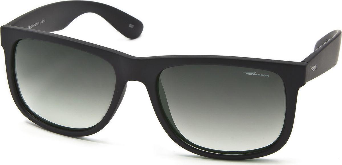Очки поляризационные мужские Legna, цвет: зеленый, черный. S8703ABM8434-58AEСолнцезащитные очки LEGNA с поляризационными линзами превосходно предохраняют глаза от любого рода вредных бликов и УФ-лучей, что делает вождение безопасным и комфортным. Также очки LEGNA ничем не уступают самым известным маркам и брендам в эстетической части. Благодаря линзам премиум класса очки LEGNA прекрасно подходят для повседневной носки, занятий спортом, отдыха и конечно для использования за рулем.