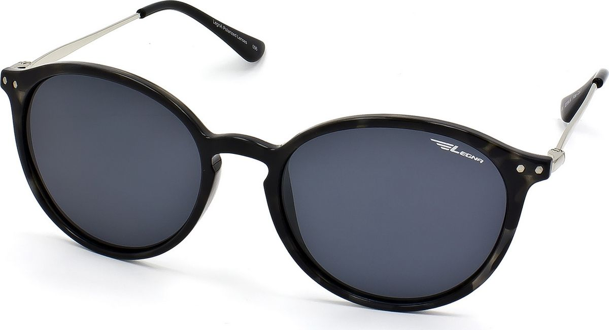 Очки поляризационные Legna, цвет: серый, черный. S8704A1-022_516Солнцезащитные очки LEGNA с поляризационными линзами превосходно предохраняют глаза от любого рода вредных бликов и УФ-лучей, что делает вождение безопасным и комфортным. Также очки LEGNA ничем не уступают самым известным маркам и брендам в эстетической части. Благодаря линзам премиум класса очки LEGNA прекрасно подходят для повседневной носки, занятий спортом, отдыха и конечно для использования за рулем.