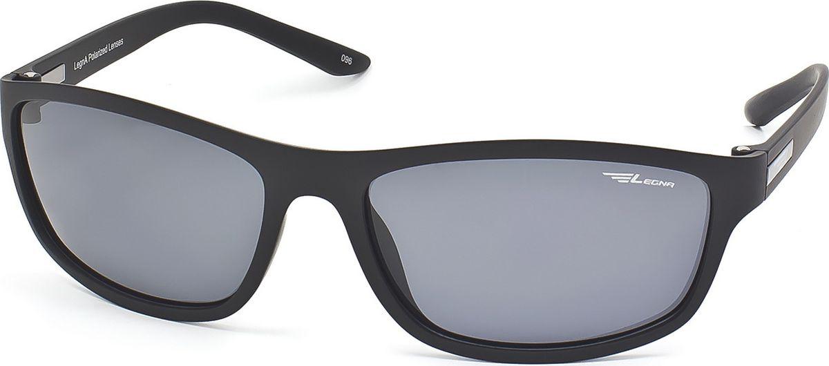 Очки поляризационные мужские Legna, цвет: серый, черный. S8706A1-022_516Солнцезащитные очки LEGNA с поляризационными линзами превосходно предохраняют глаза от любого рода вредных бликов и УФ-лучей, что делает вождение безопасным и комфортным. Также очки LEGNA ничем не уступают самым известным маркам и брендам в эстетической части. Благодаря линзам премиум класса очки LEGNA прекрасно подходят для повседневной носки, занятий спортом, отдыха и конечно для использования за рулем.