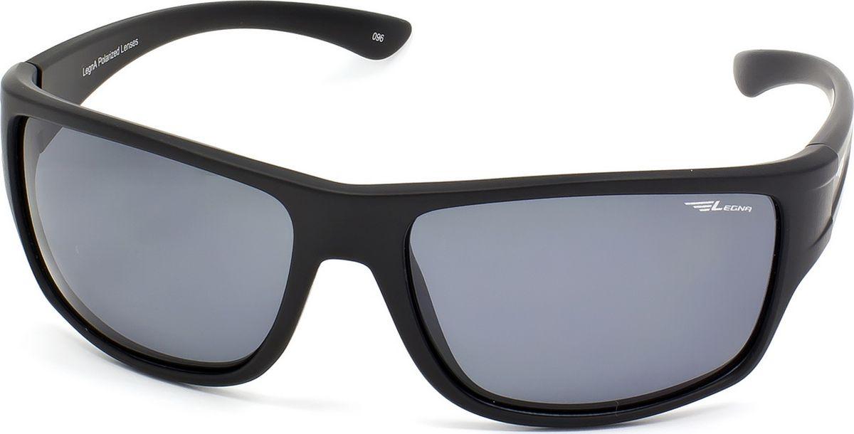 Очки поляризационные мужские Legna, цвет: серый, черный. S8707AINT-06501Солнцезащитные очки LEGNA с поляризационными линзами превосходно предохраняют глаза от любого рода вредных бликов и УФ-лучей, что делает вождение безопасным и комфортным. Также очки LEGNA ничем не уступают самым известным маркам и брендам в эстетической части. Благодаря линзам премиум класса очки LEGNA прекрасно подходят для повседневной носки, занятий спортом, отдыха и конечно для использования за рулем.