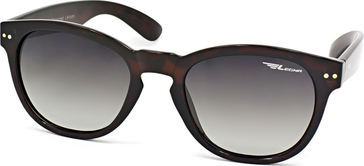 Очки поляризационные Legna, цвет: зеленый, темно-коричневый. S8718AINT-06501Солнцезащитные очки LEGNA с поляризационными линзами превосходно предохраняют глаза от любого рода вредных бликов и УФ-лучей, что делает вождение безопасным и комфортным. Также очки LEGNA ничем не уступают самым известным маркам и брендам в эстетической части. Благодаря линзам премиум класса очки LEGNA прекрасно подходят для повседневной носки, занятий спортом, отдыха и конечно для использования за рулем.