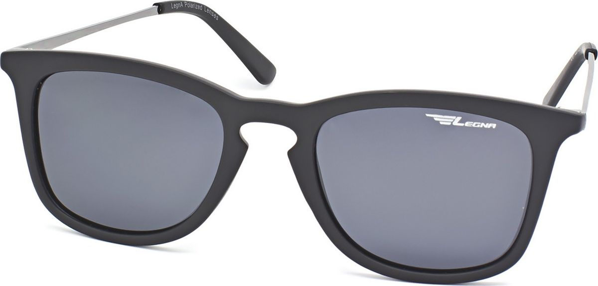 Очки поляризационные Legna, цвет: серый, черный. S8720ABM8434-58AEСолнцезащитные очки LEGNA с поляризационными линзами превосходно предохраняют глаза от любого рода вредных бликов и УФ-лучей, что делает вождение безопасным и комфортным. Также очки LEGNA ничем не уступают самым известным маркам и брендам в эстетической части. Благодаря линзам премиум класса очки LEGNA прекрасно подходят для повседневной носки, занятий спортом, отдыха и конечно для использования за рулем.