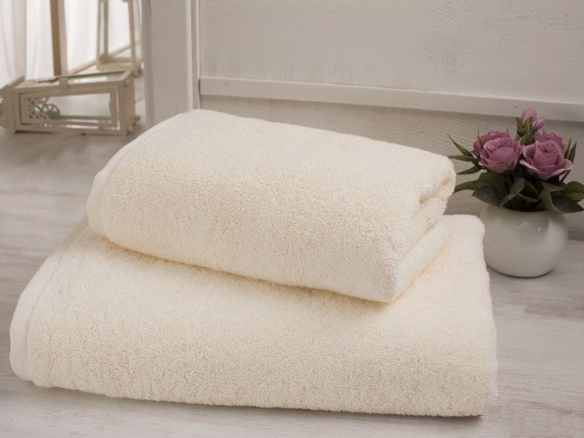 Полотенце Karna  Efes , цвет: молочный, 70 х 140 см - Полотенца