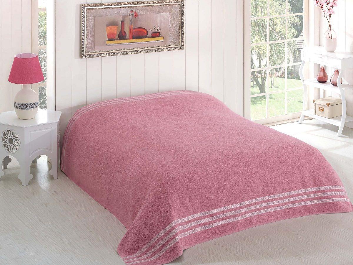 Простынь махровая Karna Petek, цвет: темно-розовый, 160 х 220 см. 2636/CHAR0032636/CHAR003Простынь махровая Karna Petek,Характеристики: Материал: хлопокРазмер: 160 х 220 см.