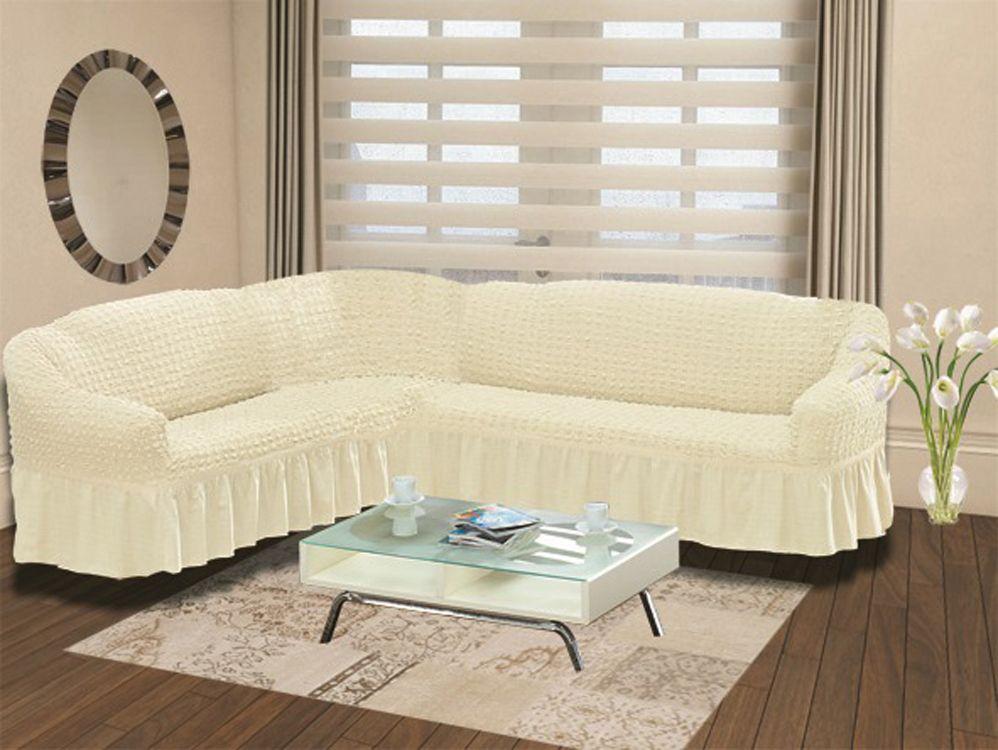 Чехол на угловой диван Karna Bulsan, универсальный. 2640/CHAR008 karna karna чехол на диван угловой цвет коричневый