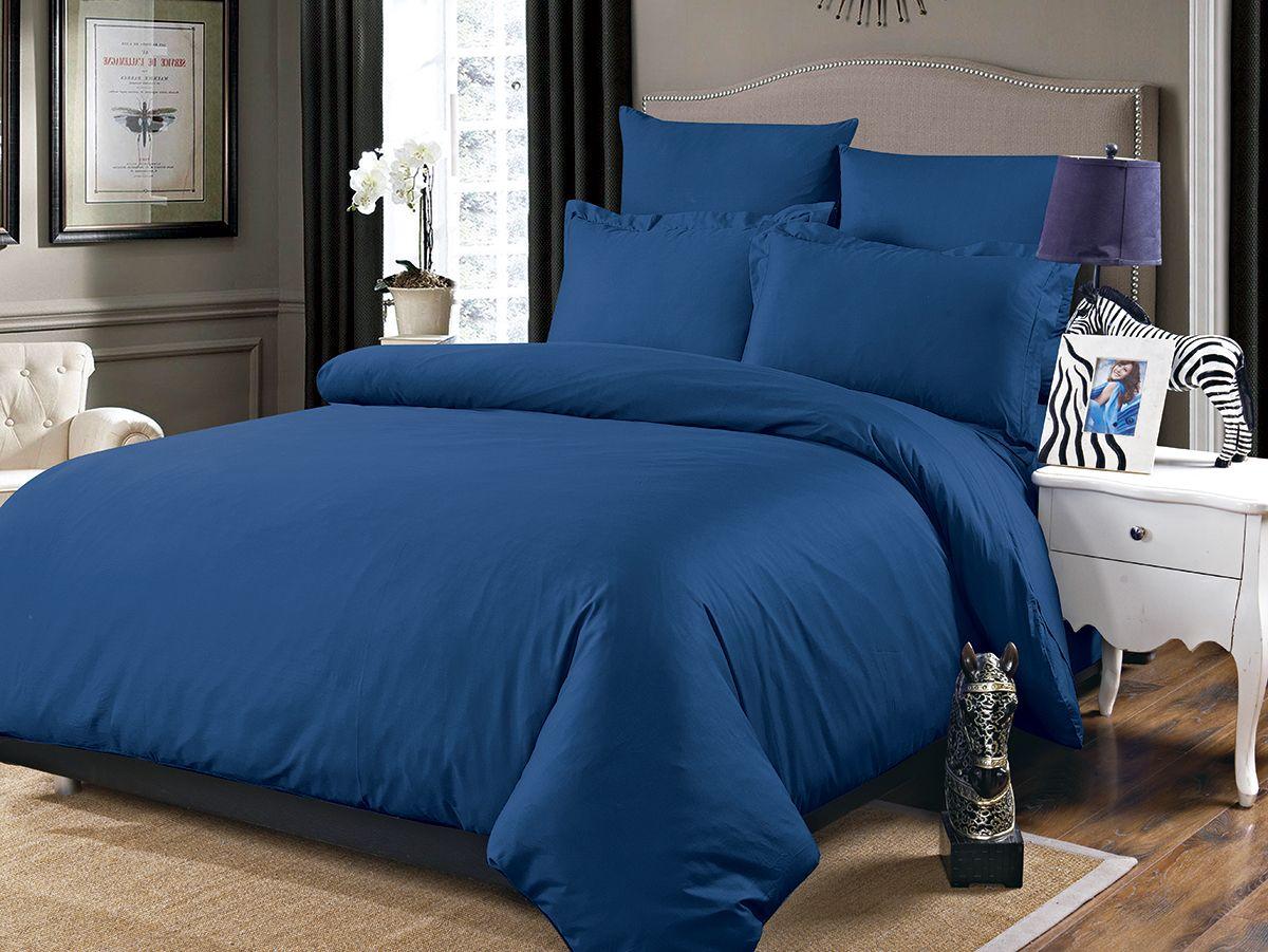 Комплект белья Karna Sansolid, евро, наволочки 50x70, 70x70, цвет: синий5091/CHAR005Великолепное постельное белье Karna изготовлено из сатина (100% хлопка). Хлопок - волокно растительного происхождения, получаемое из хлопчатника. Изготавливают из высококачественных хлопковых нитей. Хлопковые нити прядутся из длинных волокон. Длина волокон хлопковой нити влияет на свойства ткани, чем длиннее волокна, тем изделие прочнее, пушистее и мягче на ощупь. А также изделие из хлопка будет отлично впитывать воду и быстро сохнуть. На впитывающие качества (ее гигроскопичность), конечно же, влияет состав волокон.Постельное белье абсолютно не аллергенно, имеет высокую воздухопроницаемость и долгий срок использования ткани. Отличительной особенностью данной модели является ее оригинальный дизайн. Данное изделие отличается своей долговечностью и практичностью, постельное белье не выгорает и не линяет.