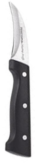 Нож Tescoma фигурный, 7 см. 880501880501Нож фигурный Tescoma высшего качества для профессионального и домашнего использования, замечателен для фигурной нарезки овощей, фруктов, мяса и т.д. Нож изготовлен из нержавеющей стали и прочной пластмассы. Лезвие заточено и сформировано для максимально эффективного использования. Характеристики: Материал: сталь, пластик. Длина ножа: 17,5 см. Длина лезвия: 7 см. Производитель: Чехия. Артикул: 880501.