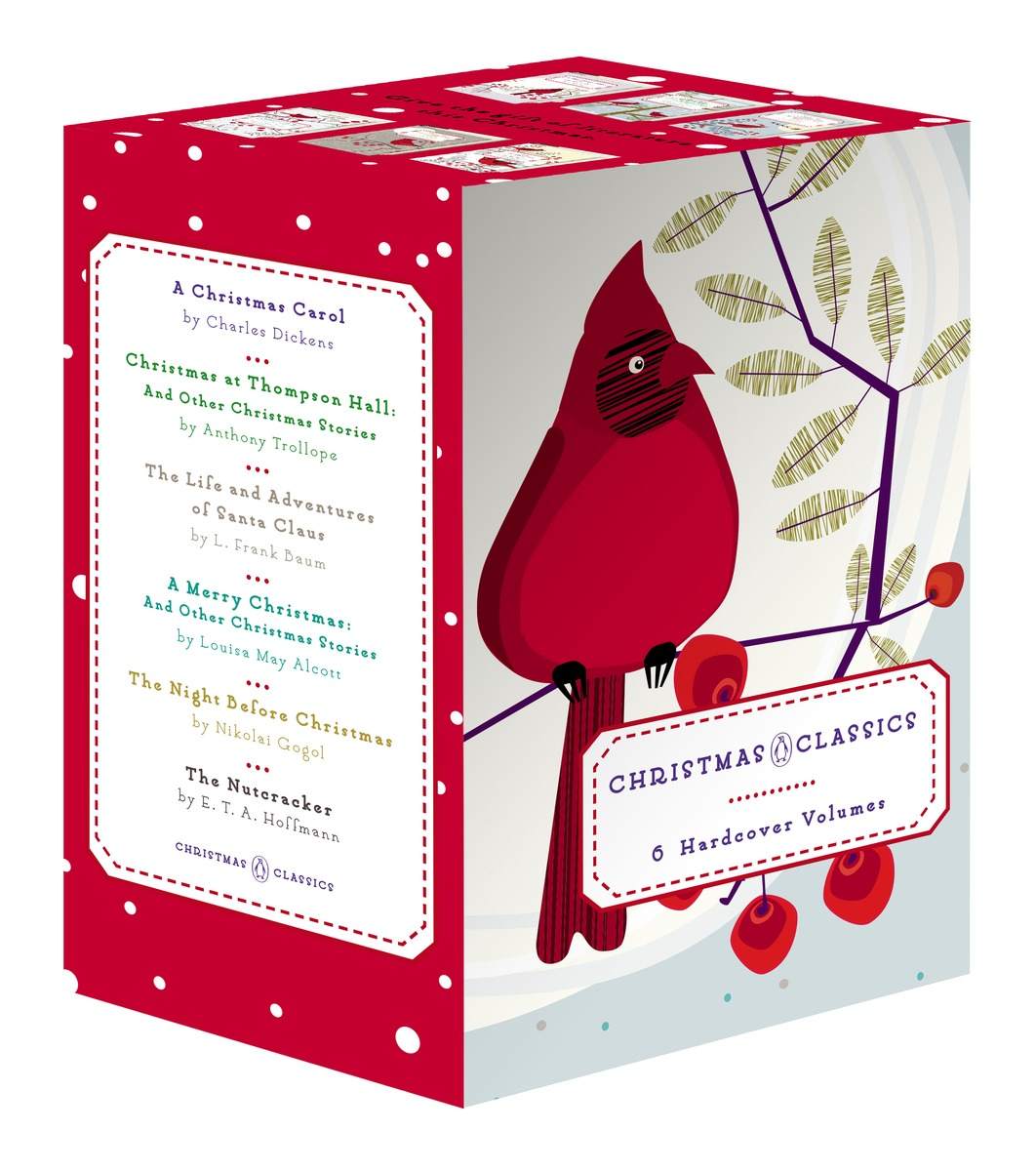 Penguin Christmas Classics 6-Volume Boxed Set penguin ice breaking save the penguin great family toys gifts desktop game fun game who make the penguin fall off lose this game