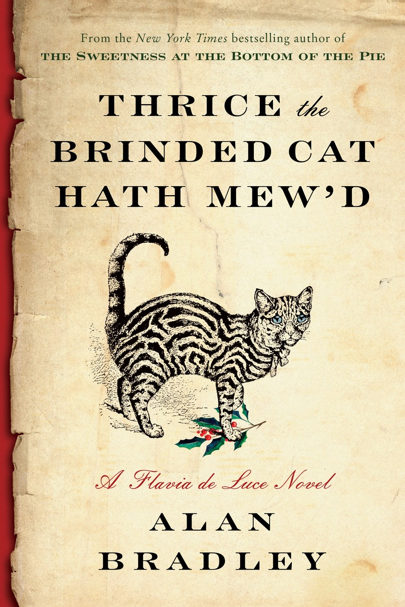 Thrice the Brinded Cat Hath Mew'd a cat a hat and a piece of string