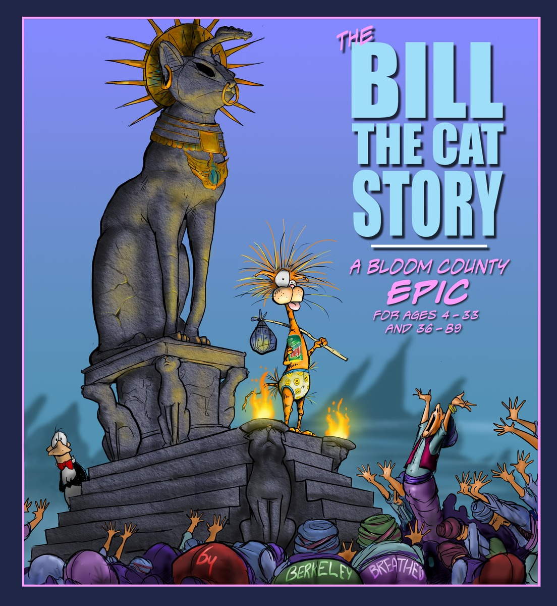 The Bill the Cat Story: A Bloom County Epic футболка рингер printio thbbft bill the cat