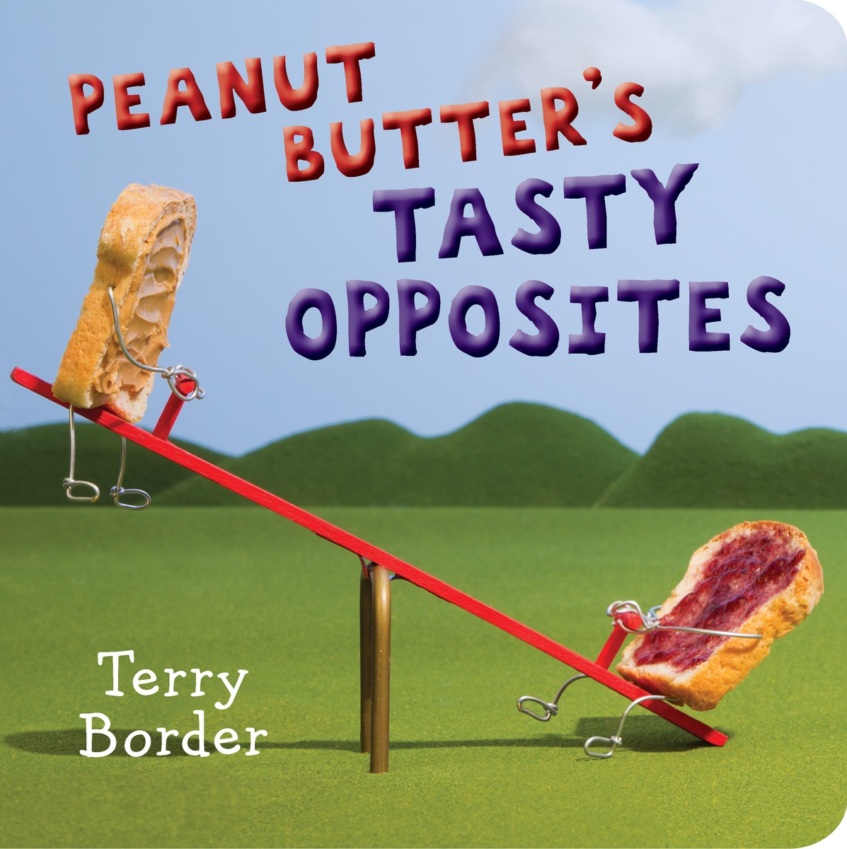 Peanut Butter's Tasty Opposites rabbits in the snow a book of opposites