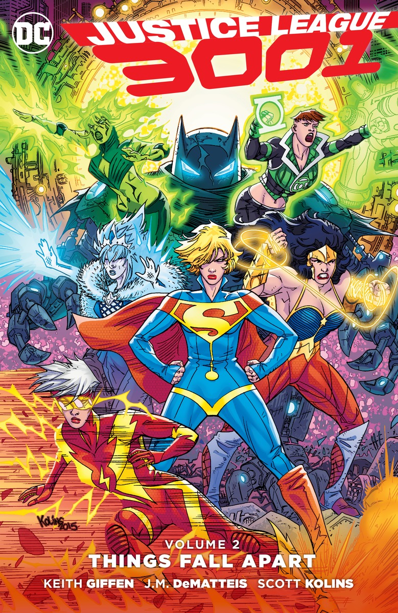 Justice League 3001 Vol. 2: Things Fall Apart keith giffen threshold vol 1 the hunted the new 52
