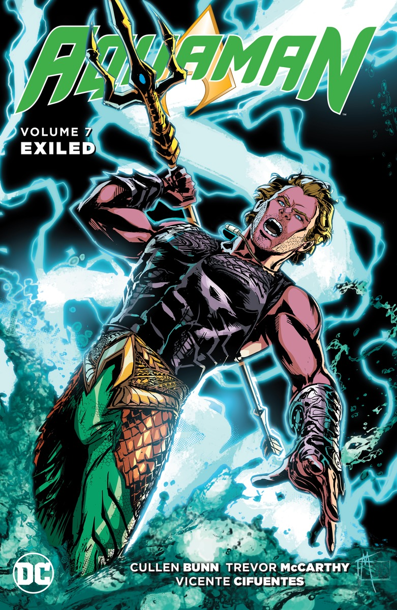Aquaman Vol. 7: Exiled powers the definitive hardcover collection vol 7