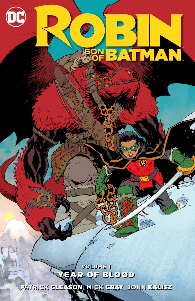 Robin: Son of Batman Vol. 1: The Year of Blood ross karen mother of the year