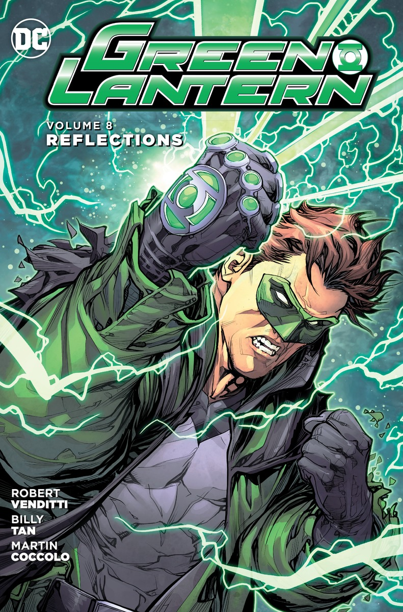 Green Lantern Vol. 8: Reflections last templar vol 3 the the sunken church