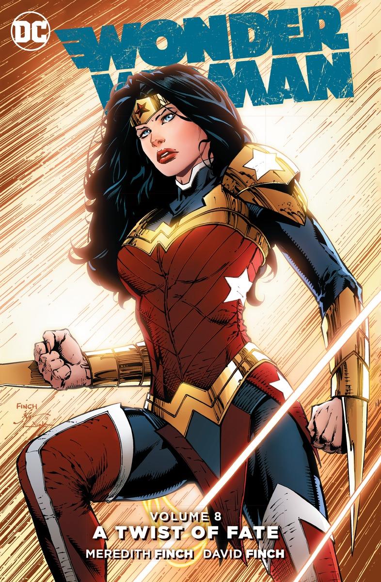 Wonder Woman Vol. 8: A Twist of Faith wonder woman vol 3 the truth rebirth